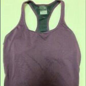 Ladies/Women Nike Tennis Top Size L Dark Purple